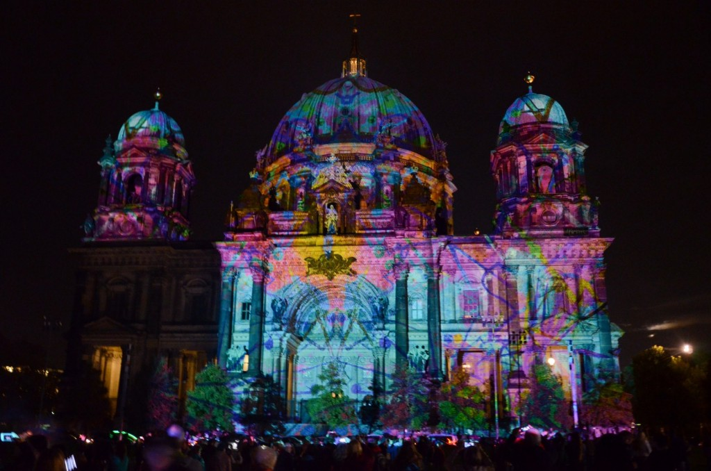 Berliner Dom - Festival of Lights 2014 Berlin