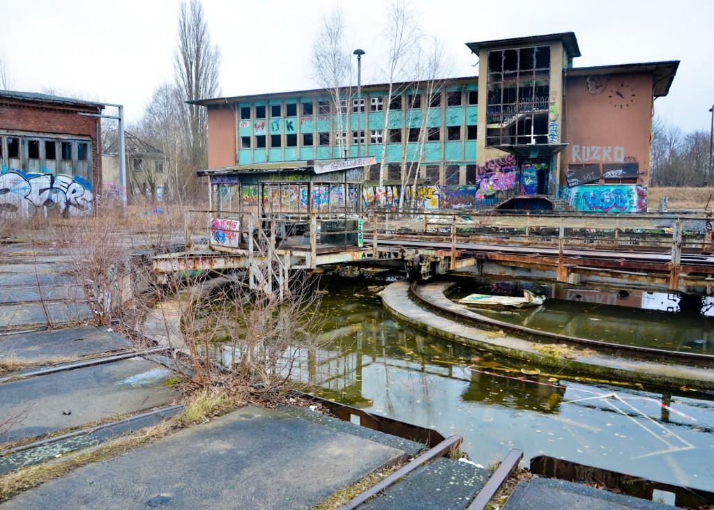 Güterbahnhof Pankow Urbex-34