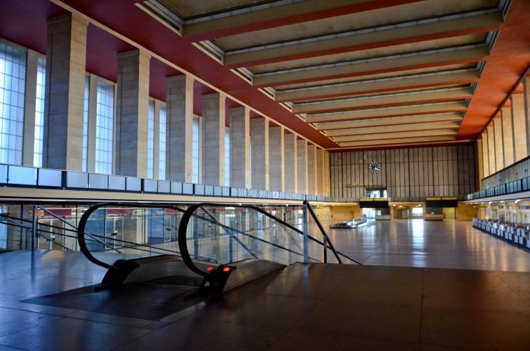 Tours door Berlijn - Luchthavengebouw Tempelhof