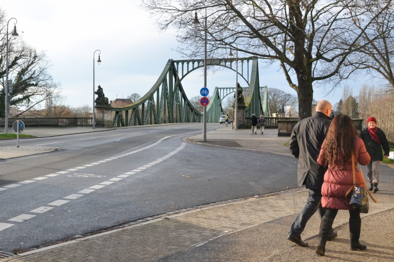 Glienicke Brucke - Bridge of Spies in Berlijn