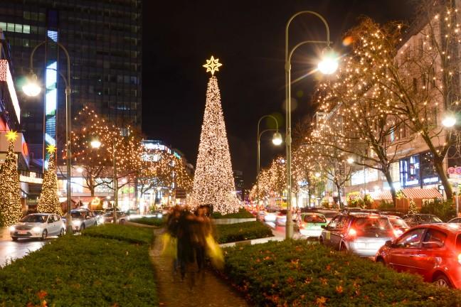 2015-WattedoeninBerlijn - Kerstlichtjes Kurfurstendamm Berlijn-16