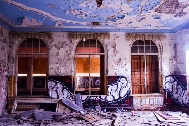 Ballhaus Grunau - Urbexen in Berlijn-41