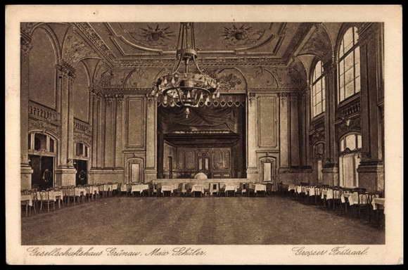 Oude zaal - Ballhaus Grunau