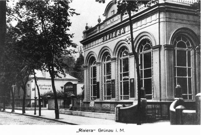 Riviera Grunau - 1900