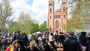 Tag der Arbeit – 1 Mei feest in Berlijn Kreuzberg