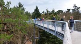 Baumkronenpfad Beelitz – Hoog boven bomen, tussen ruïnen