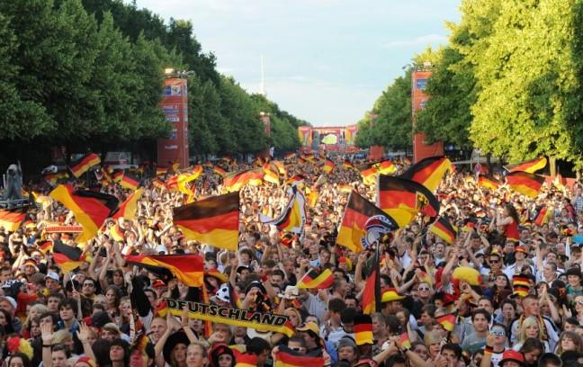 Public Viewing / EM 2012 / Berlin