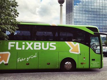 met de bus naar Berlijn