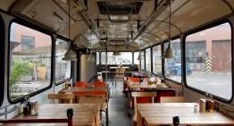 Café Pförtner – lunchen in een oude bus