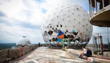 De Teufelsberg: spionage en street art