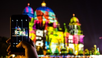 Foto-impressie: Lichtfestival in Berlijn 2016