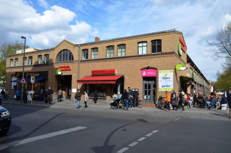 Marheineke Markthalle voorzijde