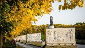 Fotoserie: de gouden herfst in Berlijn