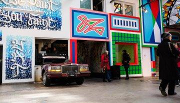 Wandelism – Pop-up street art in een oude autogarage – VERLENGD!