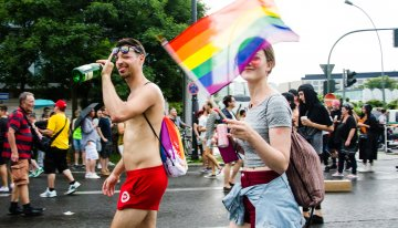 Christopher Street Day – De Berlin Pride demonstratie