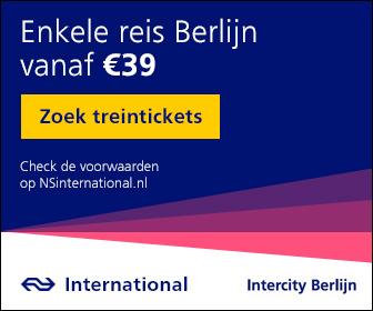 Met de trein naar Berlijn vanaf 39 euro enkele reis