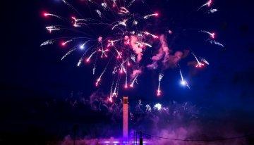 De Pyronale: een overweldigende vuurwerkshow in het Olympiastadion