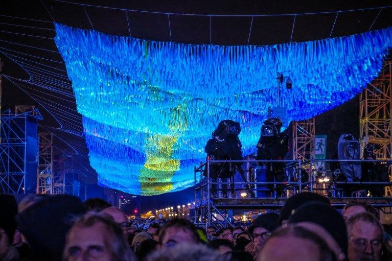 Feest tijdens 30 jaar val van de muur in Berlijn © Wattedoeninberlijn.nl