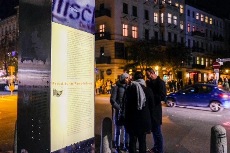 Tentoonstelling Getsehmanekirche tijdens 30 jaar val van de muur in Berlijn © Wattedoeninberlijn.nl