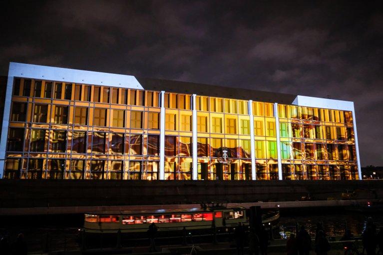 Schlossplatz tijdens 30 jaar val van de muur in Berlijn © Wattedoeninberlijn.nl